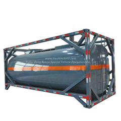 Un Portable Tank 20FT ISO Container Frame for Un2797, Battery Fluid, Alkali Naoh (max 50%) , Naclo (max 10%)