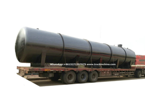 Acid Storage Tank for Oil Fied Chemical Contain Hydrochloric Acid 120cbm Horizontal
