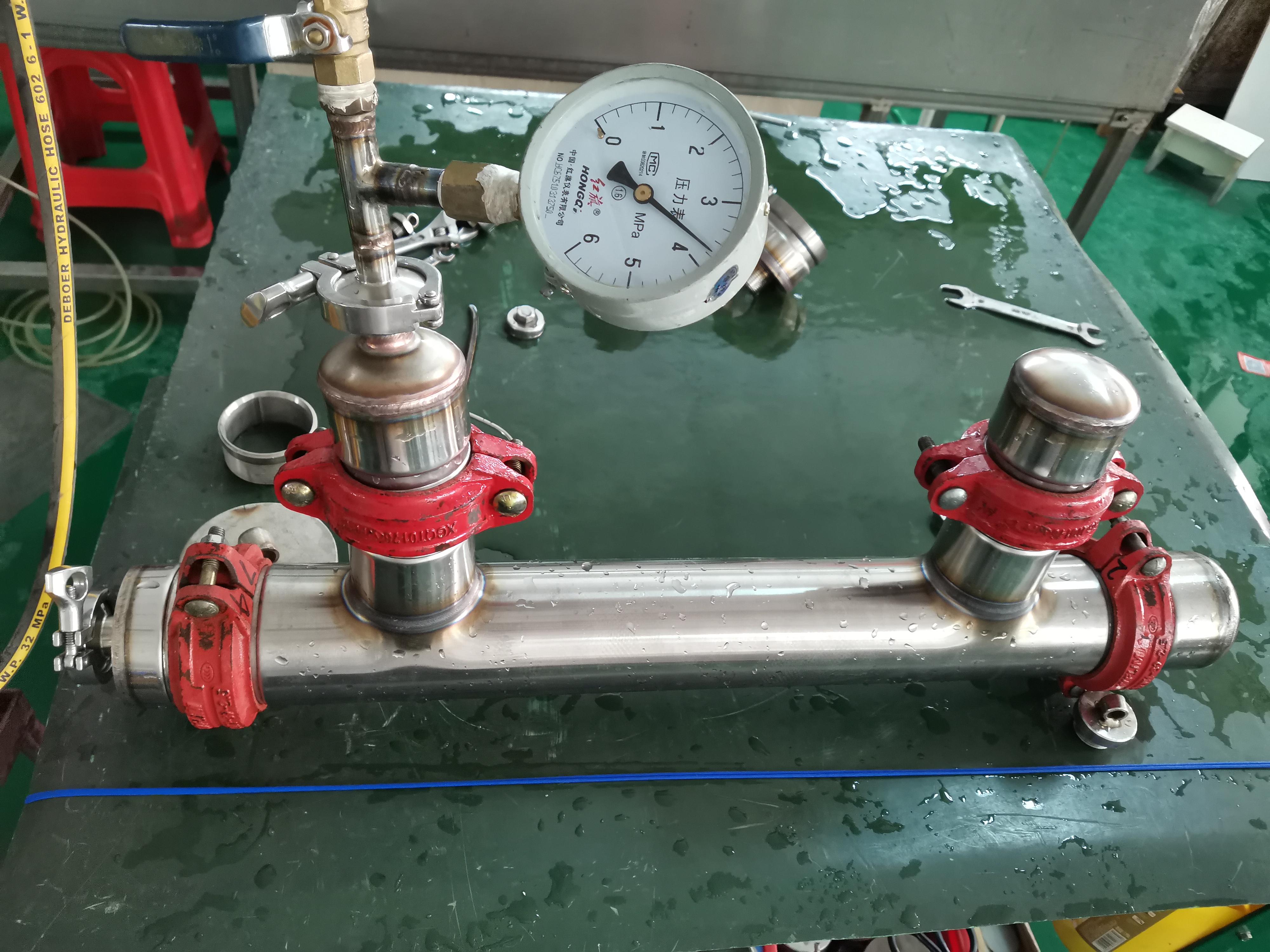 pressure testing 1