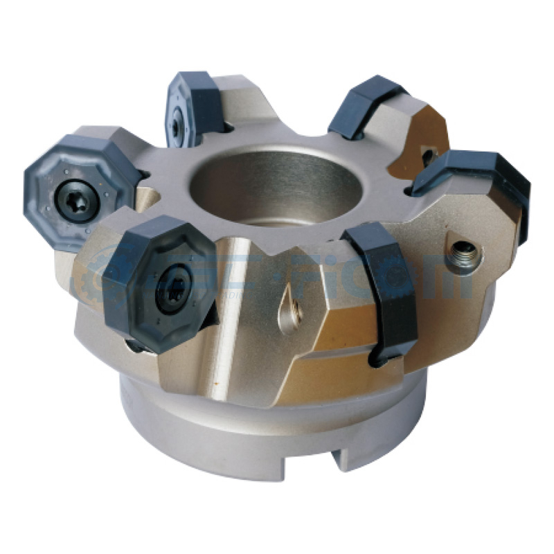 75° Indexable Face Mills & 45° Intexable Face Mills Octagonal Double Side