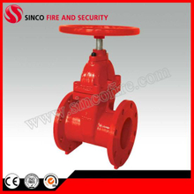 Rvhx Flanged End Resilient Seat Non Rising Stem Gate Valve