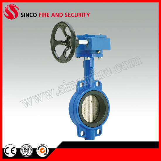 Fire Fighting Used Wafer Signal Butterfly Valve