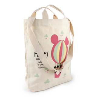 Organic cotton reusable shopping bags