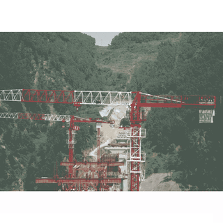 Flat-top Tower Crane PT6016-6
