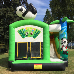 Panda Inflatable Bouncy Jumping Combo For sale