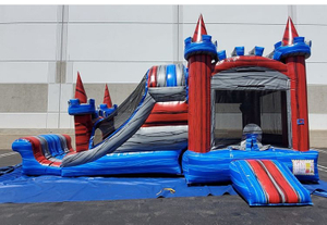 Commercial Inflatable Dry Bouncy Slide For sale