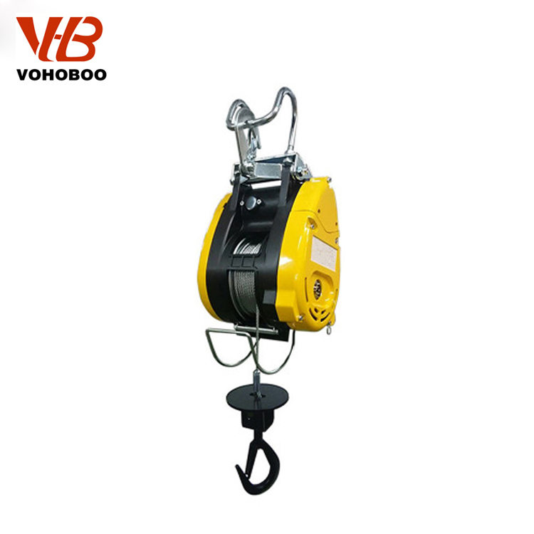 Electric mini winch