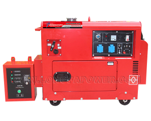 5.5kW 6kVA Gasoline Generator Powered by Original Honda GX390 Engine with ATS