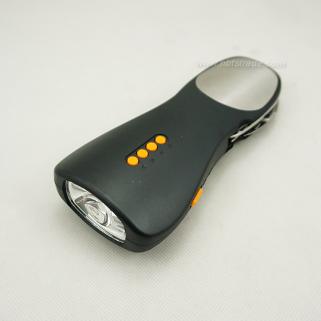Dynamo Hand Crank Rechargeable Emergency Torch with Radio and Alarm