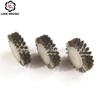 Stainless Steel Wheel Brush with PP Hub