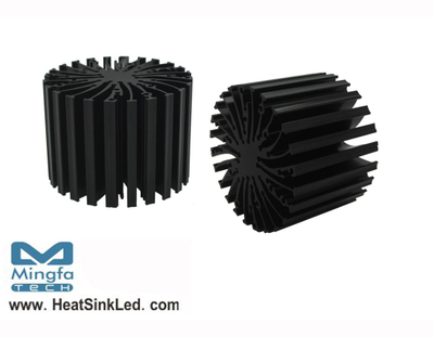 EtraLED-VOS-7050 for Vossloh Schwabe Modular Passive LED Cooler Φ70mm
