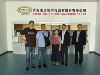 Welcome customers from Malaysia and Thailand to visit our FARINA company