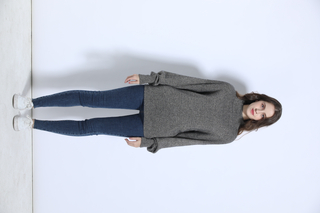 P20B01HX women's warm cashmere sweater turtleneck sweater