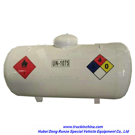 Mini 500 Gallons (1.89m3) Propane LPG Small Pressure Tank 1 Ton Cooking Gas Storage (LPG, DEM, Isobutane, cooking gas)