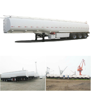 45000L~60000L Steel 3 Axle Tanker Semi-Trailer