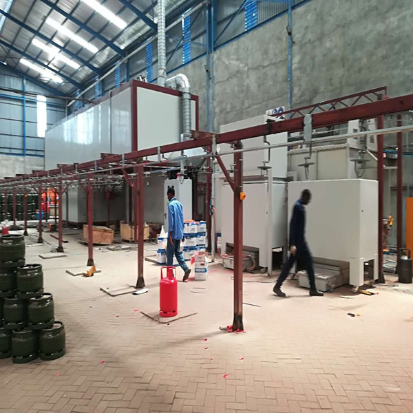 LPG Cylinder Electrostatic Powder Coating Line
