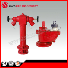Dn80, Dn100 Outdoor Pillar Fire Hydrant with Pn16