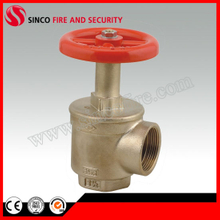 "F1.5"" NPT Inlet and Outlet Fire Hose Angle Valve"