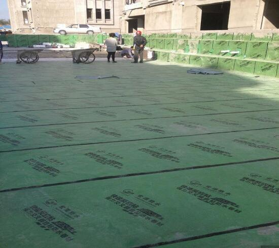 Self-Adhesive Bitumen Waterproofing Membrane Used on Building