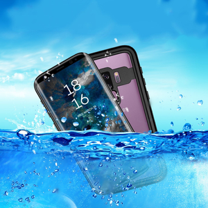 Custom Shockproof Waterproof IP68 Cell Phone Case for Samsung Galaxy S9 Plus