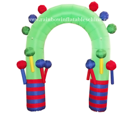 RB20003(2x1.2m) Inflatable Popular Advertising Arch For Xmas Events
