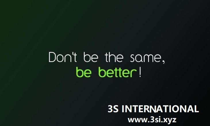 3S International: We have begin to received new orders!