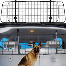 Universal Car Headrest Guard Grill Pet Dog Safety Adjustable Barrier for Vehicle Back Seat