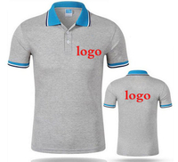 Custom logo printed sports golf polo tshirt