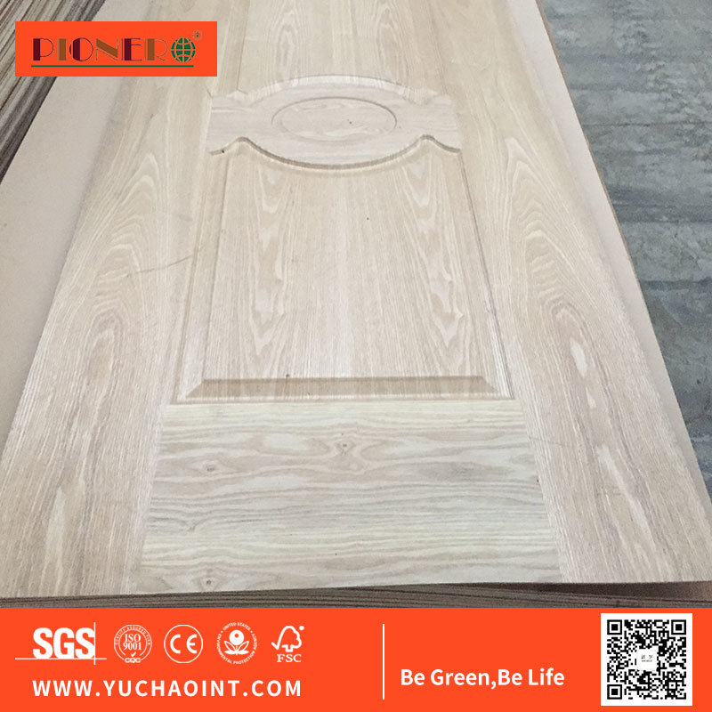 Interior HDF MDF Laminated Veneer Door Skin Supplier