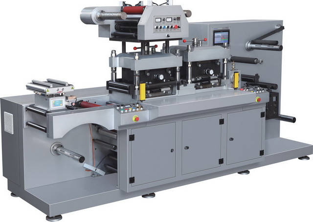 YS-350GT Automatic High Speed Label Hot Stamping And Die Cutting Machine(Two Position)