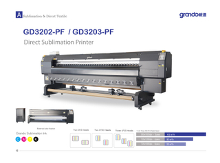 "GD3202-PF 128"" Direct Sublimation Printer"