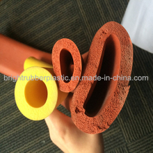 High Quality Silicone Sponge Extrusion Tubes/Rubber Extrusion Parts