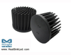 GooLED-LUM-11080 Pin Fin Heat Sink Φ110mm for LumiLEDs