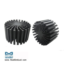 EtraLED-SHA-13080 for Sharp Modular Passive LED Cooler Φ130mm