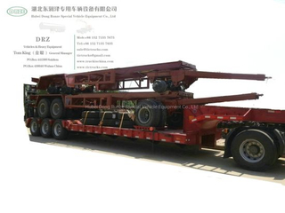 Customizing 2 -3 -4 Axles Dolly Trailers (Flat Bed Dolly, Lowbed Dolly, Tank Dolly, Cargo Dolly)