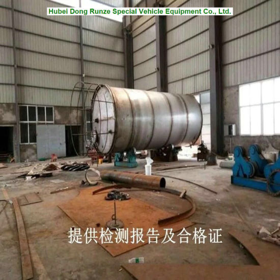 Stainless Steel Water Oil Storage Tank 60m3 Customization