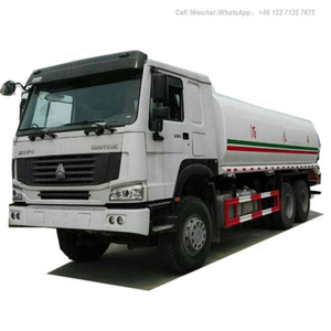 Sinotruck HOWO 6X6 Water Bowser off Road 20t (AWD All Wheels Drive PTO Pump Carbon Steel or Stainless Steel Tank)