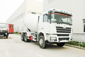 F3000 Shacman 9~12 M3 Concrete Mixer Truck for Sale