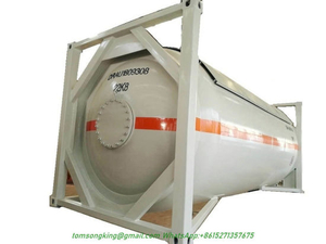 Anhydrous Liquid Ammonia Isotank Nh3 ISO Tank Container 20FT 24000L