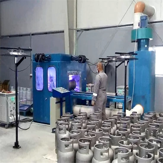 Zinc Metalizing Manufacturing Machine for LPG Cylinder Tank