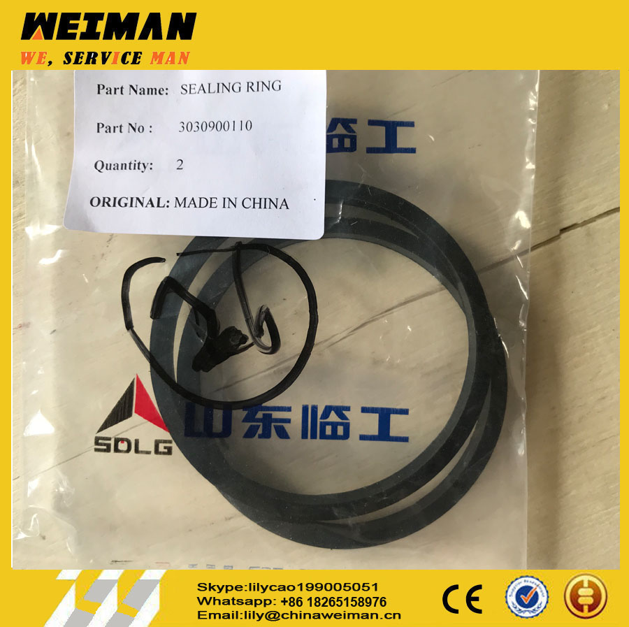 Best price parts for SDLG loader parts ------ZF Transmission seal ring 3030900110 3030900111