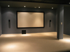 150'' Fixed Frame Projection Screen Wall Mount Projector Screen with high contrast