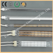 Infrared radiation heating tube, gold-plated heating tube, white-plated heating tube, gold-plated infrared radiator