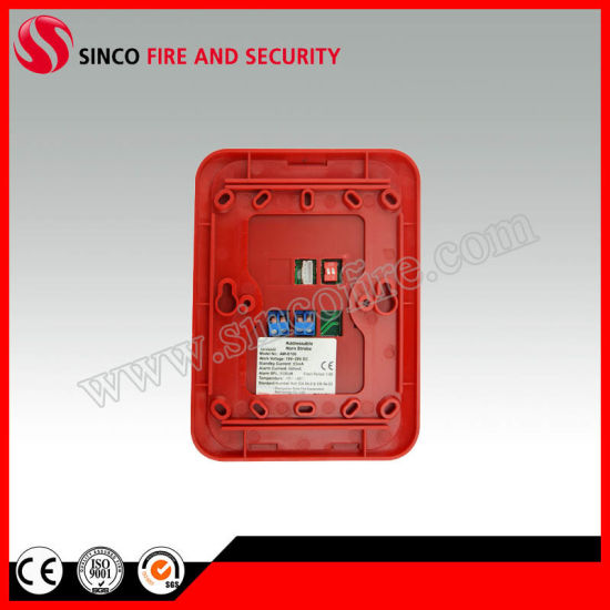 Fire Siren and Strobe for Fire Alarm System