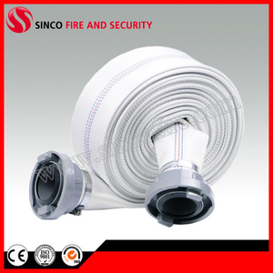 White Fire Hose with Storz Coupling