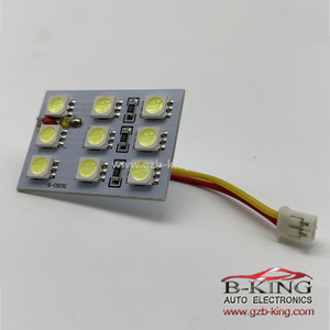 12V LED Panel Light for Car 9SMD 5050 Interior Reading Dome Lights