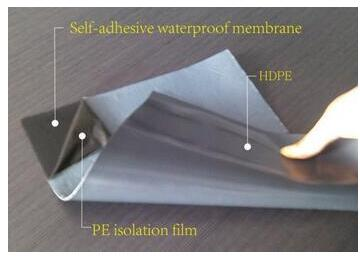 Self-Adhesive Bituminous Waterproofing Membrane for Non-Exposed Roof