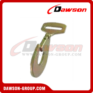 FH1842 BS 5000KG / 11000LBS 2 polegadas Twisted Flat Snap Hook