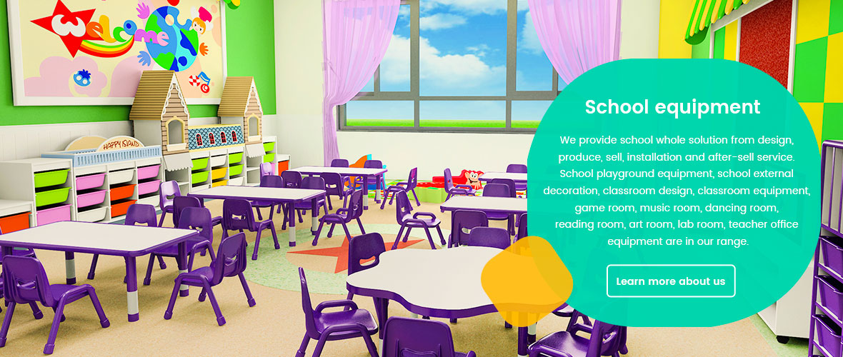 School classroom student facilities