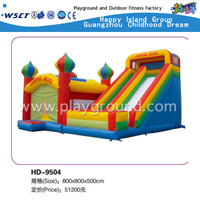 ПВХ-материал Jumping Jacks Outdoor Inflatable Bouncers (HD-9504)